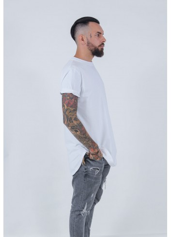 T-SHIRT CLASSIC LONG WHITE