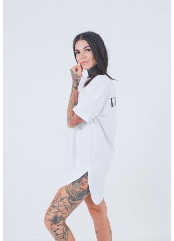 T-SHIRT CLASSIC LONG WHITE